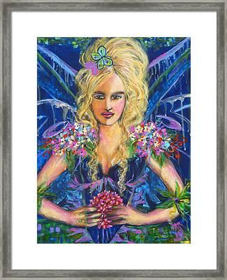 Fantashia Fae Framed Print by Kimberly Van Rossum