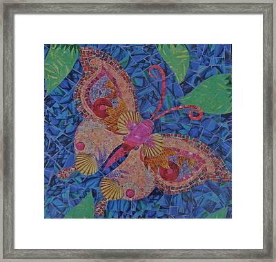 Fantasy Butterfly  Framed Print by Teresa Grace Mock
