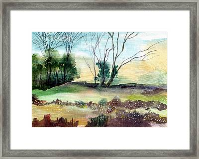Far Beyond Framed Print by Anil Nene