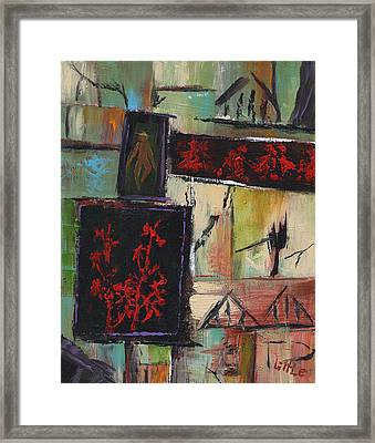 Far East Framed Print by Jerry Little