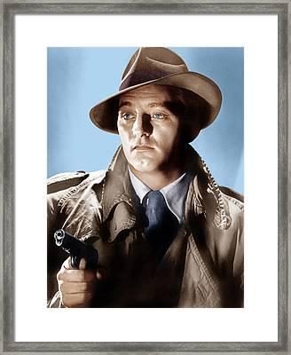 Farewell My Lovely, Robert Mitchum, 1975 Framed Print by Everett