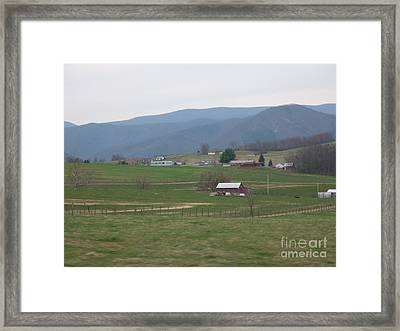 Farm 2 Framed Print by Artie Wallace