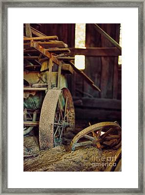 Farm Equipment Framed Print by HD Connelly