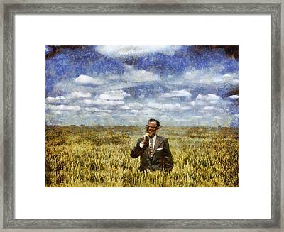 Farm Life - A Good Crop Framed Print by Nikki Marie Smith