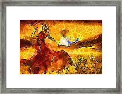Fasahion 366 Framed Print by Jacques Silberstein
