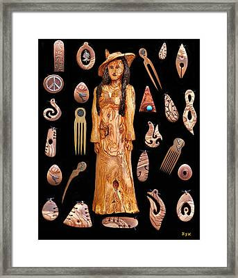 Fashion Jewellery Tour Framed Print by Eric Kempson