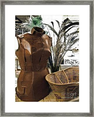 Fashionable Flea Market Framed Print by Gwyn Newcombe