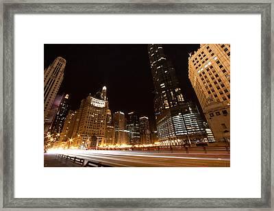 Fast Forward Framed Print by Daniel Chen