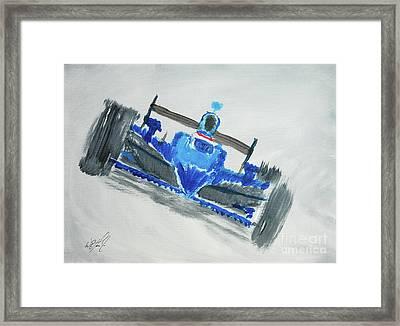 Fast Girl Framed Print by William  Homeier