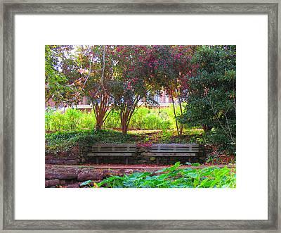 Favorite Place Framed Print by Evgeniya Sohn Bearden