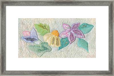 Favourite Lacy Blooms Framed Print by Denise Hoag