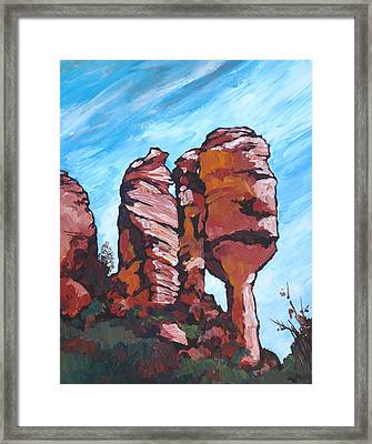 Fay Canyon Framed Print by Sandy Tracey