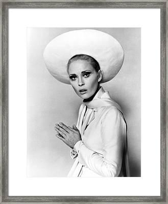 Faye Dunaway, Portrait C. 1960s Framed Print by Everett