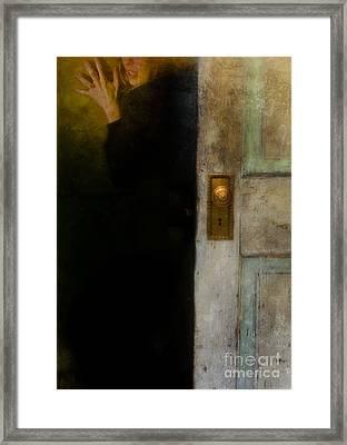 Fear Framed Print by Jill Battaglia