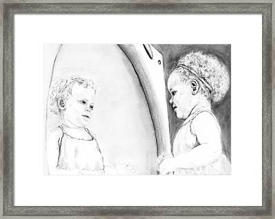 Fearfully And Wonderfully Made Framed Print by Joy Neasley