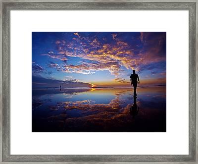 Feelings Framed Print by Mike Huseman