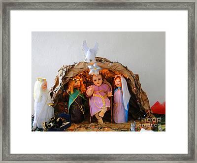 Feliz Navidad - Happy Birthday Framed Print by Al Bourassa