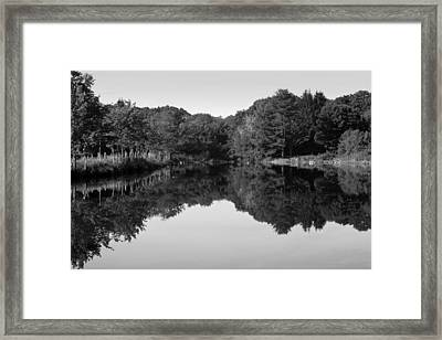 Fenns Pond Framed Print by Karol Livote