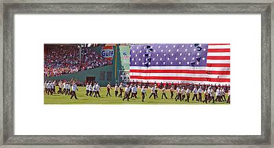 Fenway Park 100th Framed Print by Joann Vitali