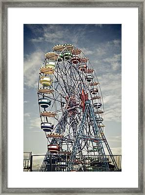Ferris Wheel Framed Print by Alex Anashkin