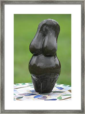 Fertility Goddess Framed Print by Tommy  Urbans