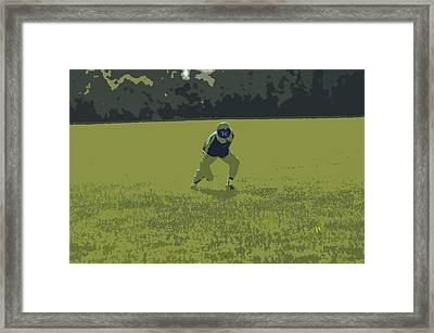 Fielding 2 Framed Print by Peter  McIntosh