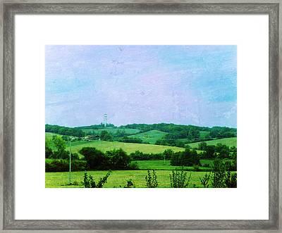 Fields Framed Print by Sandrine Pelissier