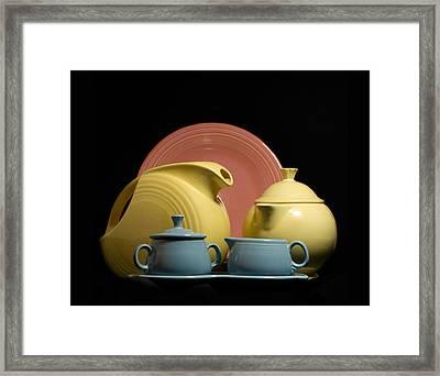 Fiesta Fun 2 Framed Print by Peter Chilelli