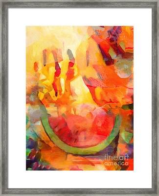 Fiesta Framed Print by Lutz Baar