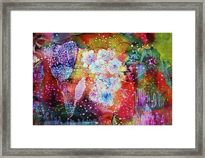 Fiesta Painting  Framed Print by Don Wright