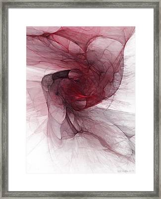 Fight Framed Print by Niels Walther