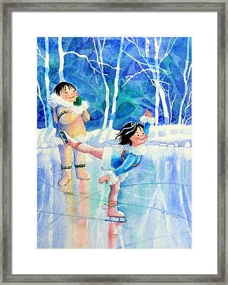 Figure Skater 15 Framed Print by Hanne Lore Koehler