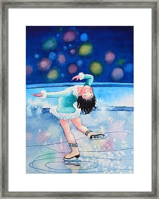 Figure Skater 16 Framed Print by Hanne Lore Koehler