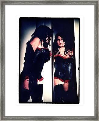 Film Noir Fetish Framed Print by Lon Casler Bixby