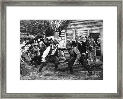 Film Still: Abraham Lincoln Framed Print by Granger