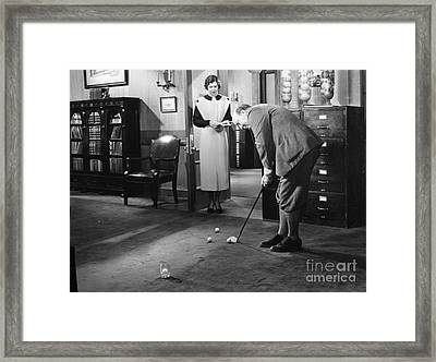 Film Still: Babbitt, 1934 Framed Print by Granger