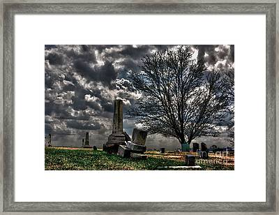 Final Vision Framed Print by Alan Look