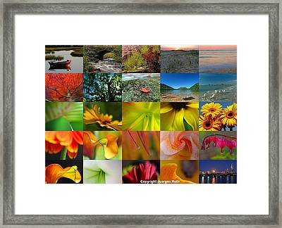 Fine Art Photography That Sells Framed Print by Juergen Roth