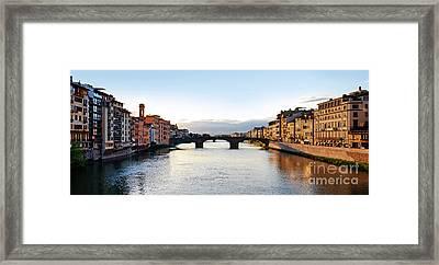 Firenze - Italia Framed Print by Carlos Alkmin