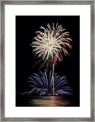 Fireworks  Abound Framed Print by Bill Pevlor