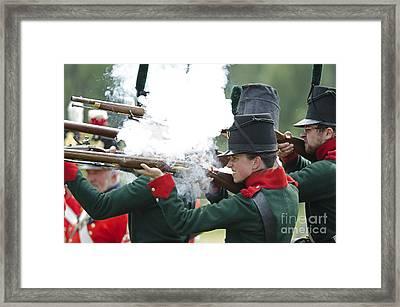 Firing Line Framed Print by JT Lewis