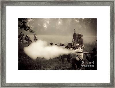 Firing On Command Framed Print by Kim Henderson