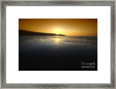 First Blush Framed Print by Yhun Suarez