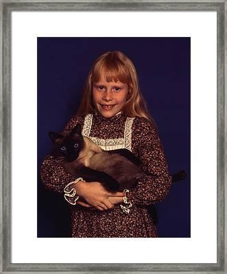 First Daughter Amy Carter Framed Print by Everett