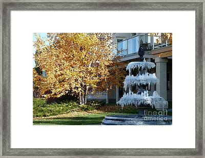 First Frost Framed Print by Anna  Duyunova