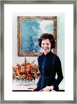 First Lady Rosalynn Carter  Official Framed Print by Everett