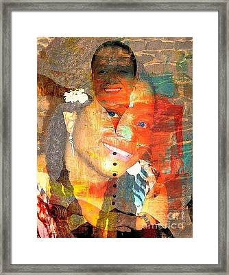 First Lady Working Lady Framed Print by Fania Simon