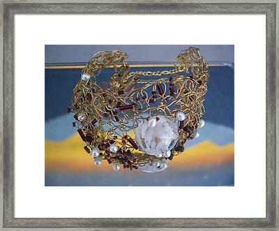 First Love Framed Print by Annette Tomek
