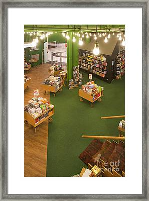 First Story Of A Bookstore Framed Print by Jaak Nilson