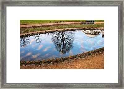 Fish Pond II Framed Print by Steven Ainsworth